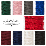 3mm drawstring cord in a variety of colours