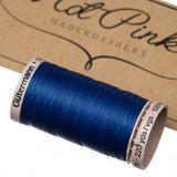 200m Gutermann Cotton Quilting Thread: Blues & Purples - Hot Pink Haberdashery  - 8