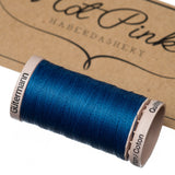 200m Gutermann Cotton Quilting Thread: Blues & Purples - Hot Pink Haberdashery  - 10