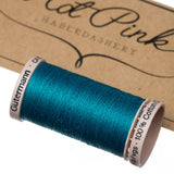 200m Gutermann Cotton Quilting Thread: Blues & Purples - Hot Pink Haberdashery  - 15