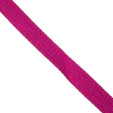 premium brushed 100% cotton 25mm webbing bright pink - Hot Pink Haberdashery