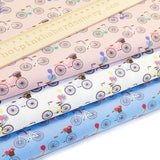 Bicycles & Balloons - Extra Wide Fabric - 100% Cotton Poplin Fabric