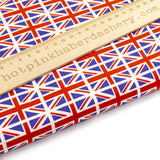 Union Jack flag design - 100% Cotton Poplin Fabric by Rose & Hubble