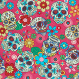 Day of the Dead - 100% Cotton Poplin Fabric by Rose & Hubble