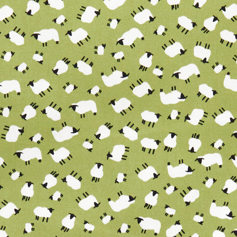 Sheep - 100% Cotton Poplin Fabric by Rose & Hubble