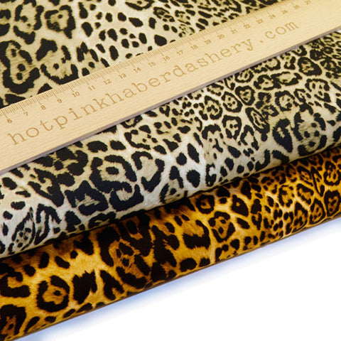 Animal prints - 100% Cotton Poplin Fabric by Rose & Hubble
