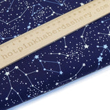 Stars & Constellations - 100% Cotton Poplin Fabric by Rose & Hubble