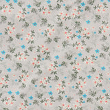 Star Flowers - 100% Cotton Poplin Fabric by Rose & Hubble