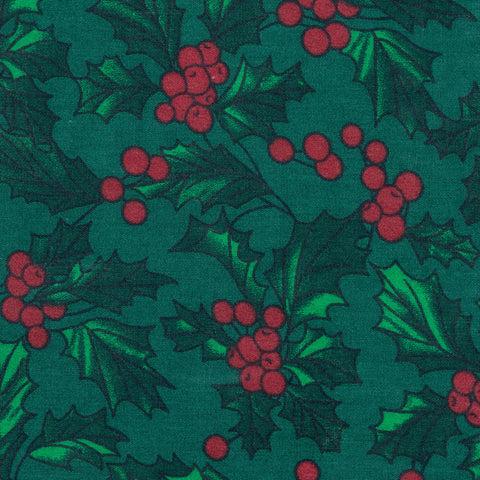 Pick N Mix: Christmas Holly on Green