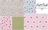 Cotton Shabby Chic 10x10cm Fabric Squares