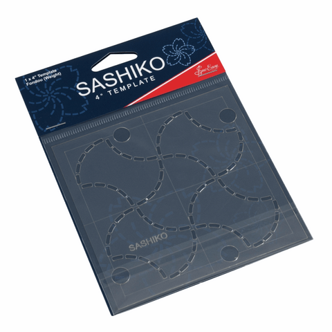 "Sashiko 4"" Fondou (weight) template by Sew Easy"
