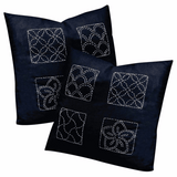 Sashiko Embroidery Cushions