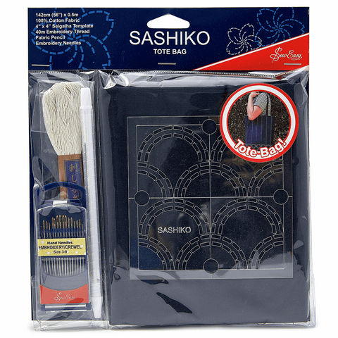 Sashiko Tote Bag Kit (ERS.014)