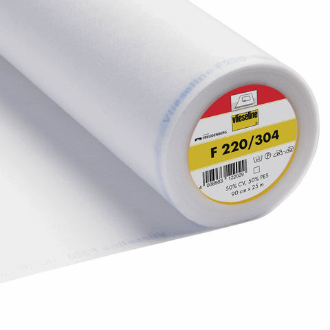 Vlieseline F220 Fusible Re-Cycled Light-Weight Interfacing
