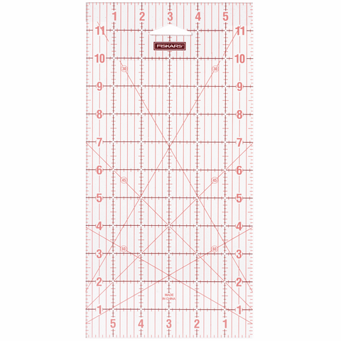Fiskars Acrylic Ruler - 6 x 12in