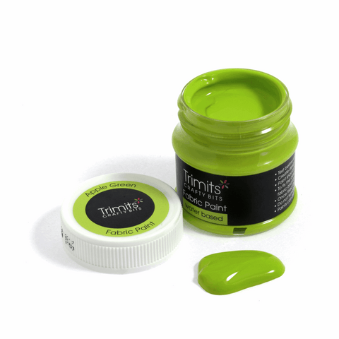 Trimits Fabric Paint Pot - Apple Green