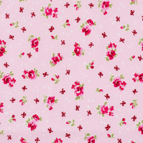 Pick N Mix: Cotton Flowers & Bows Pink