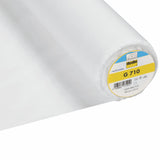 G710 Vlieseline Woven Medium weight White interfacing