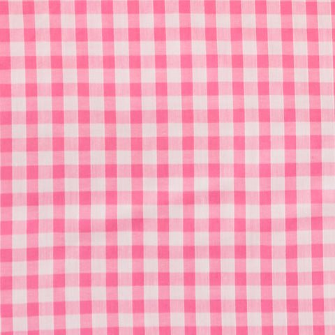 "Gingham 1/4"" check - Polycotton Prints"
