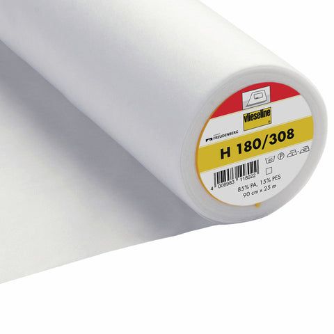 Vlieseline H180 Fusible Iron-On Light-Weight Interfacing