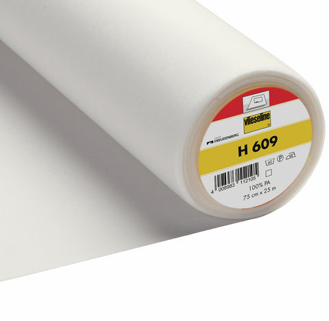 Vlieseline H609 White Fusible Knit interlining