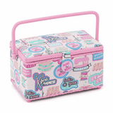 Medium Sewing Basket - Sew Cool