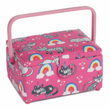 Medium Sewing Basket - Caticorn