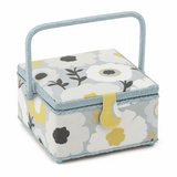 Square Sewing Basket - Scandi Floral