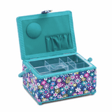 Medium Sewing Basket - Flowers a plenty