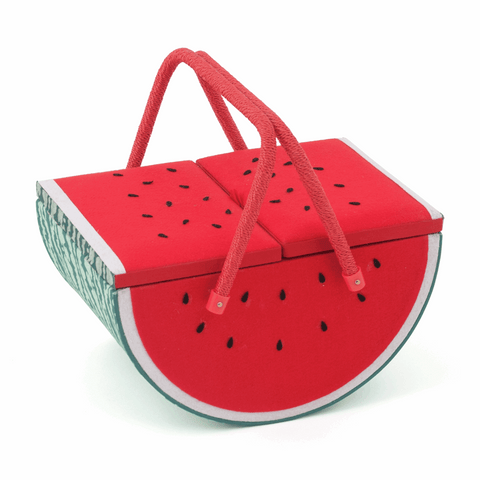 Sewing Basket - Watermelon