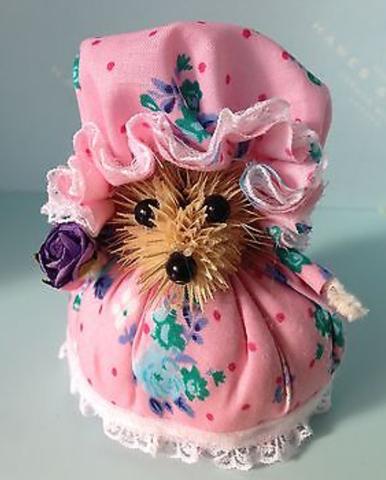 Thistle Hedgehog - Hot Pink Haberdashery
