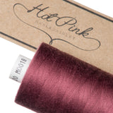 1000m Coates Polyester Moon Thread: Reds & Pinks - Hot Pink Haberdashery  - 7