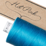 1000m Coates Polyester Moon Thread: Blues - Hot Pink Haberdashery  - 7