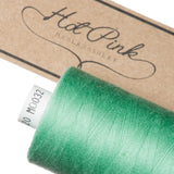 1000m Coates Polyester Moon Thread: Greens - Hot Pink Haberdashery  - 3
