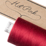 1000m Coates Polyester Moon Thread: Reds & Pinks - Hot Pink Haberdashery  - 10