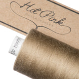 1000m Coates Polyester Moon Thread: Browns, Greys & Creams - Hot Pink Haberdashery  - 10