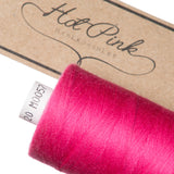 1000m Coates Polyester Moon Thread: Reds & Pinks - Hot Pink Haberdashery  - 12
