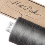 1000m Coates Polyester Moon Thread: Browns, Greys & Creams - Hot Pink Haberdashery  - 21