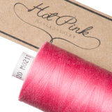 1000m Coates Polyester Moon Thread: Reds & Pinks - Hot Pink Haberdashery  - 20
