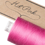 1000m Coates Polyester Moon Thread: Reds & Pinks - Hot Pink Haberdashery  - 21