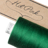 1000m Coates Polyester Moon Thread: Greens - Hot Pink Haberdashery  - 17