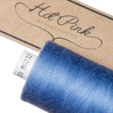 1000m Coates Polyester Moon Thread: Blues - Hot Pink Haberdashery  - 25