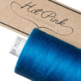 1000m Coates Polyester Moon Thread: Blues - Hot Pink Haberdashery  - 26