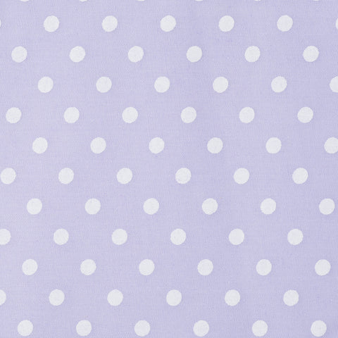 Pastel Medium Polka Dot Purple - Hot Pink Haberdashery