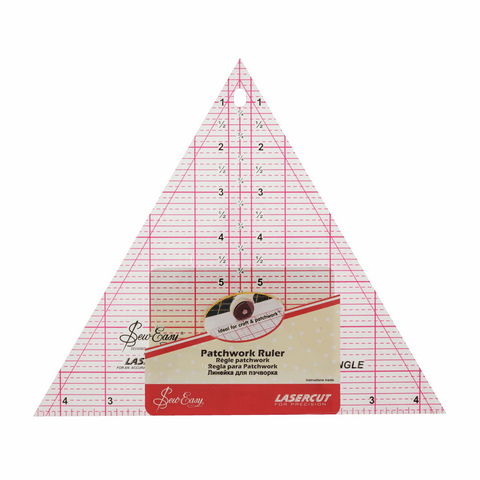 Sew Easy Triangle Quilting - 60 Degree