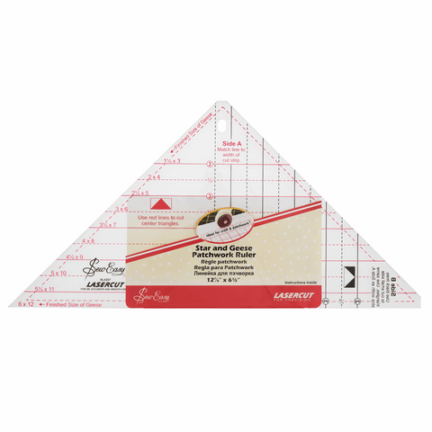 Sew Easy Star and Geese Template Ruler