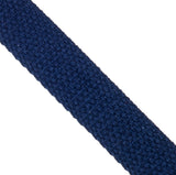 25mm 100% brushed cotton webbing for bag making in navy - Hot Pink Haberdashery