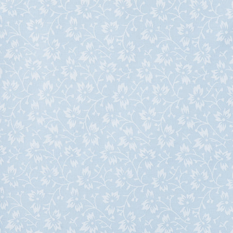 Pick N Mix: Pastel Blue White Flower - Hot Pink Haberdashery