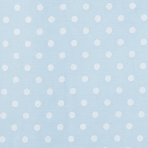Pastel Medium Polka Dot Blue