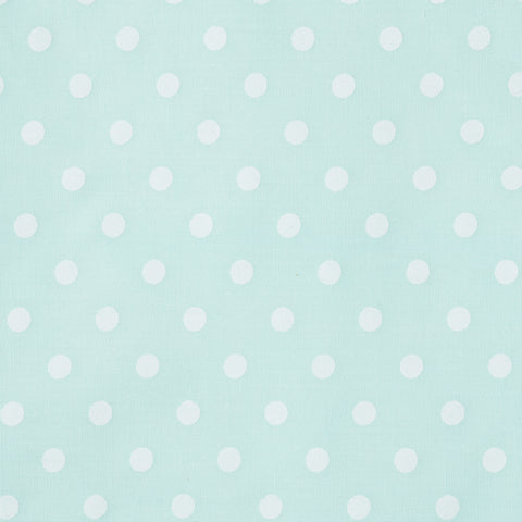 Pick N Mix: Pastel Medium Polka Dot Green - Hot Pink Haberdashery